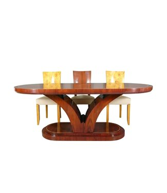 LC ART DECO TABLE IN ROSEWOOD