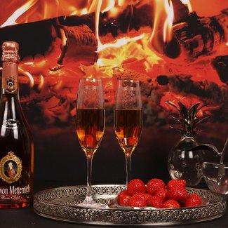 Dutch & Style Flûte à Champagne en Verre 200 ml