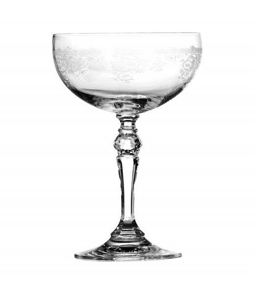 Dutch & Style Soucoupe à Champagne en Verre 380 ml