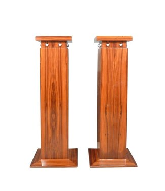 LC Set Art Deco columns