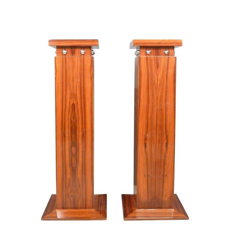 LC Set Art Deco columns