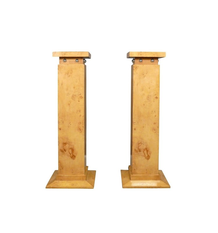 LC Set Art Deco columns beige
