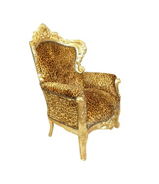 LC Baroque Armchair Jungle Leopard