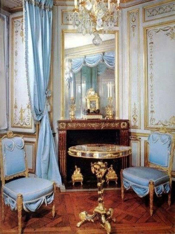 LC BERGÈRE LOUIS XVI BLUE