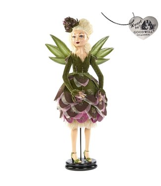 Good Will  ARTICHOKE FAIRY DOLL W/STAND