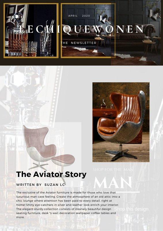 LC Aviator Design Feet Bench