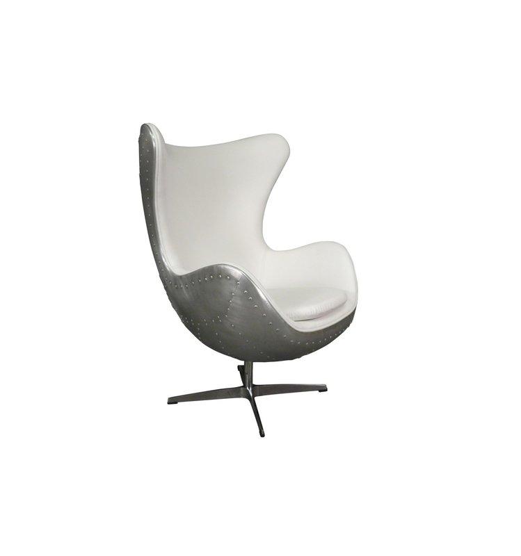 LC Design fauteuil Aviator  Scivi White