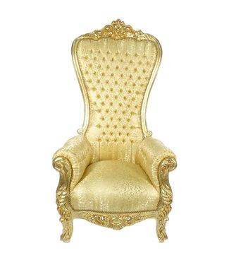 LC Trônes baroques modèle Diva fleur d'or