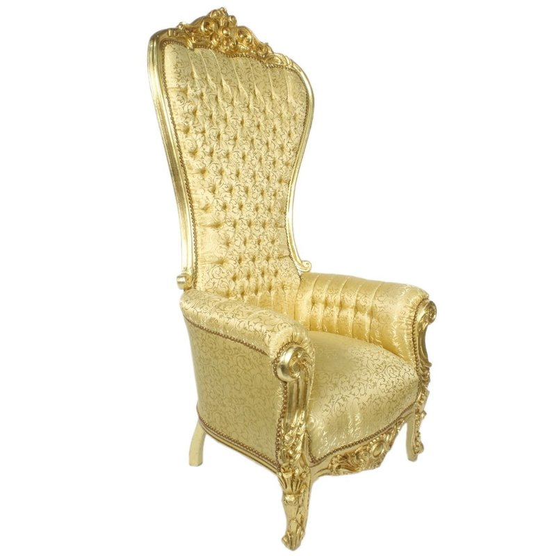 LC Baroque thrones model goud bloem