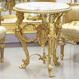 Table Empire en bronze massif exclusif