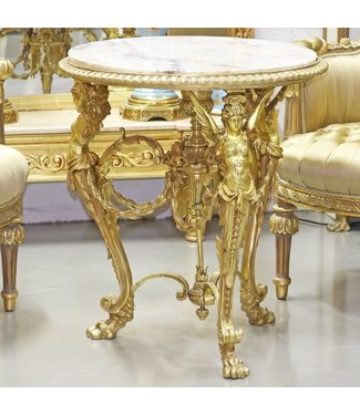 Exclusive Empire Solid Bronze Table