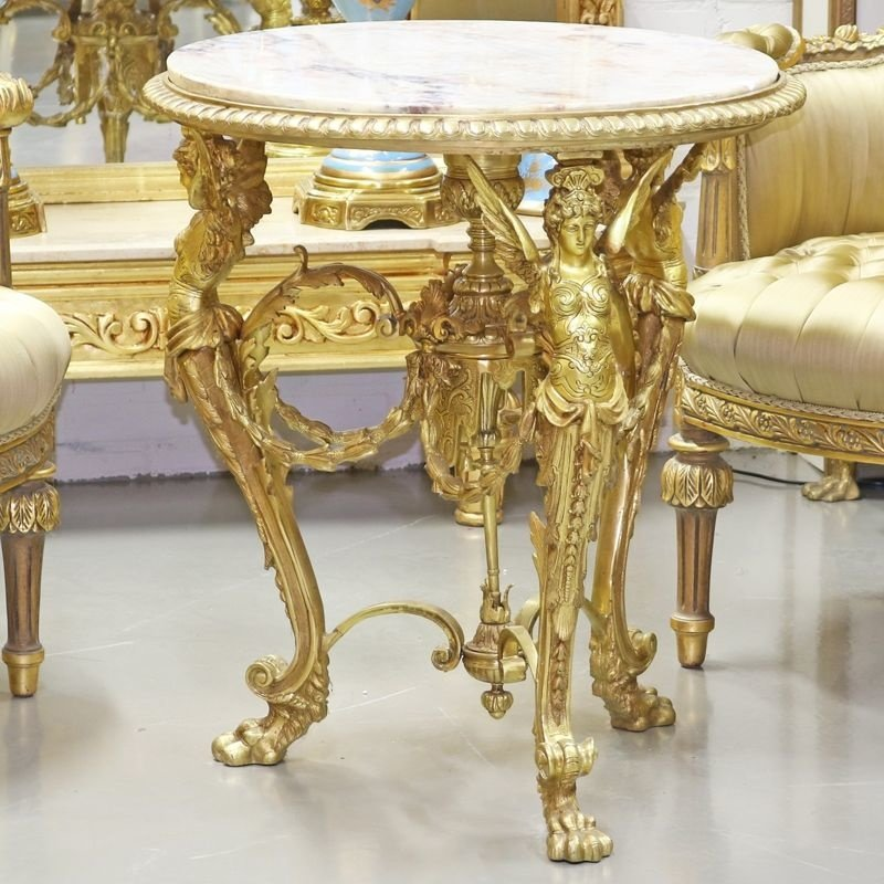 Exclusive Empire Solid Bronze Table