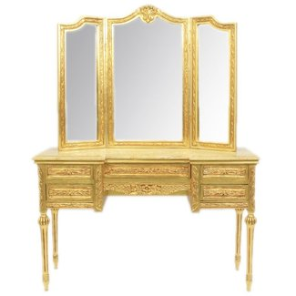 Coiffeuse baroque Isis Gold