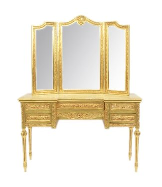 Baroque dressing table Isis Gold