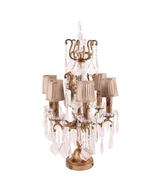 Dutch & Style Lampe de table Girandole Baroque 68 cm