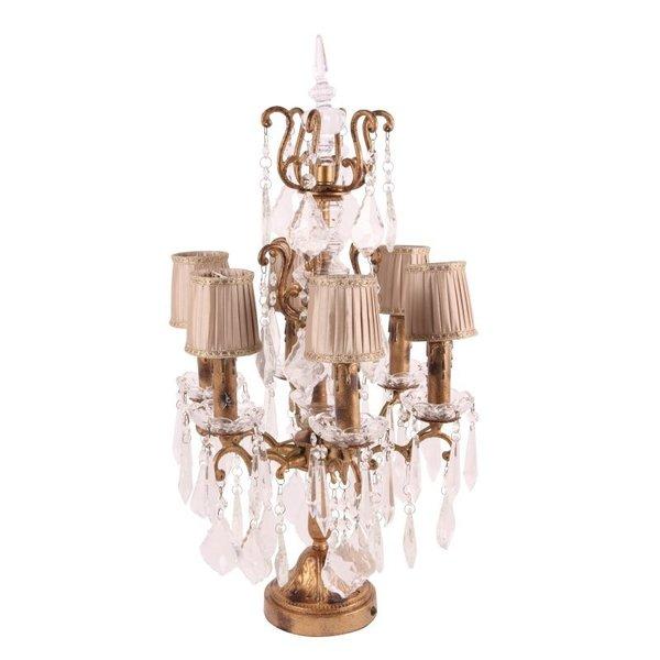 Dutch & Style Lampe de table Girandole Baroque 68 cm