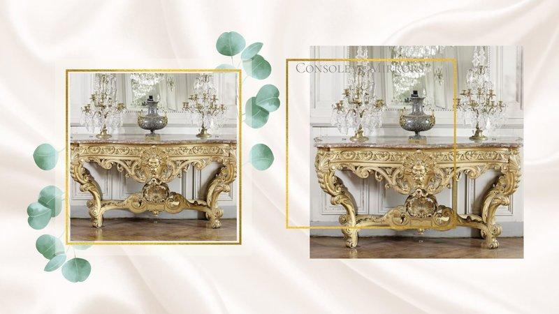 Dutch & Style Table lamp Girandole Baroque 68 cm
