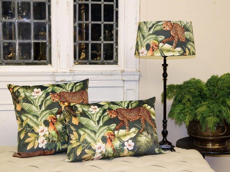 Dutch & Style GREEN OASE Cushion Luxury 50x50 cm