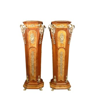 Royal Decoration   Baroque Bronze Pillars Columns Quintus