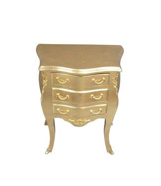 Armoire baroque Alexia Gold Cream