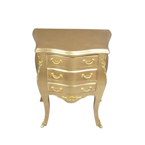 Baroque Cabinet Alexia Gold Cream