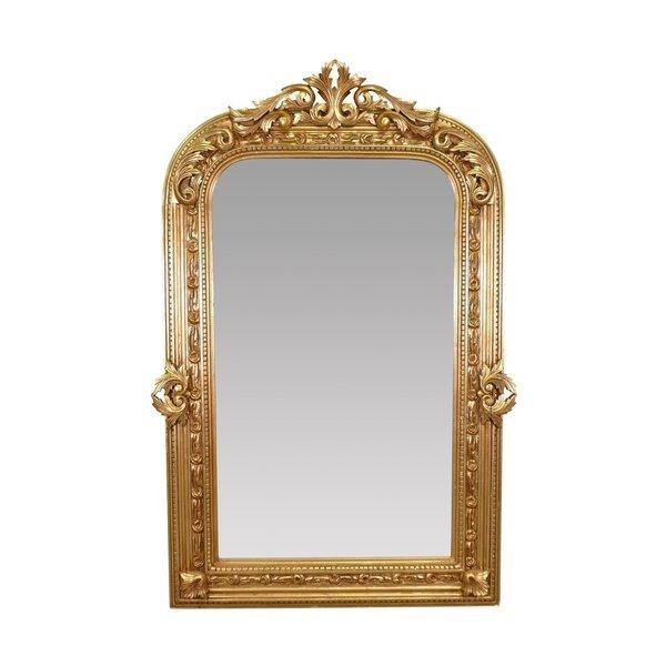 LC Baroque Mirror Aimee Antique Silver XXL