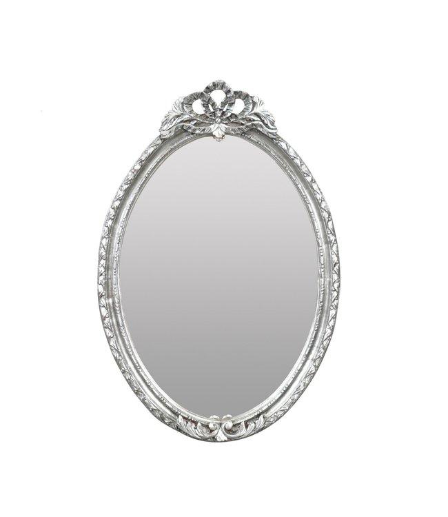 Baroque Mirror Lady Silver
