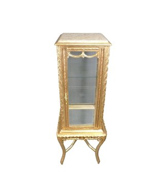 Baroque Showcase Cabinet Madilon Cream