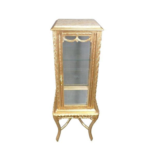 Baroque Showcase Cabinet Madilon Cream