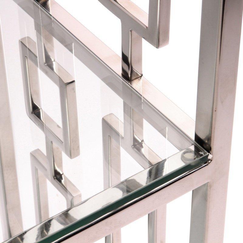 Dutch & Style Masqat vitrinekast zilver