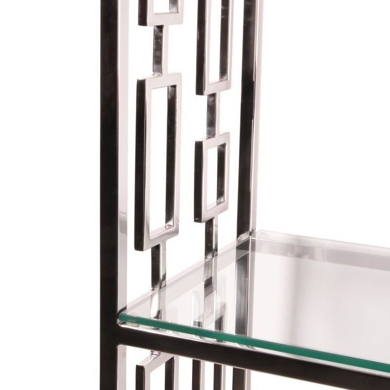 Dutch & Style Muscat display cabinet silver