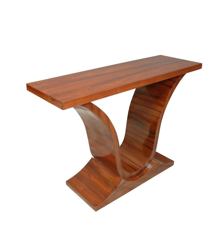 LC CONSOLE ART DECO-ROSEWOOD