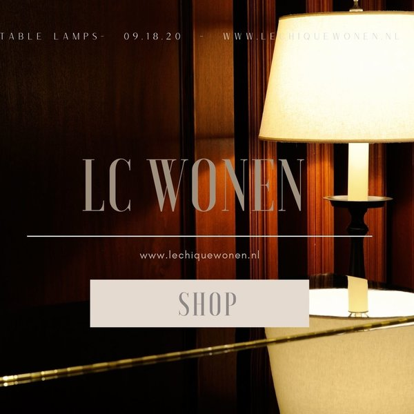 Tafel lampen