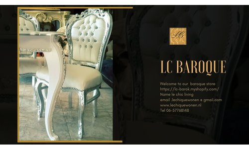 Baroque dining room seats