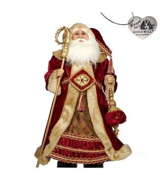 Good Will  Tissu Casse-Noisette du Père Noël