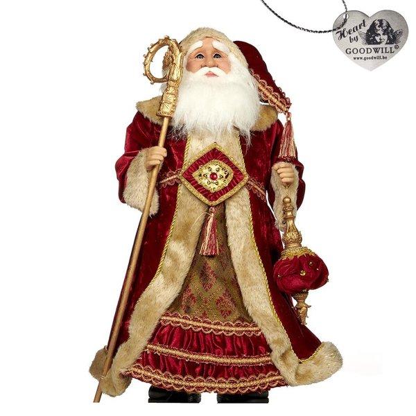 Good Will  Santa Nutcracker Fabric
