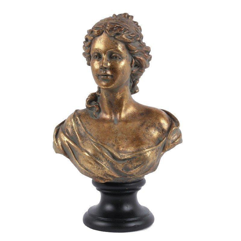 Dutch & Style Bust lady 41 cm gold