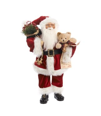 Good Will  Santa Claus with bear