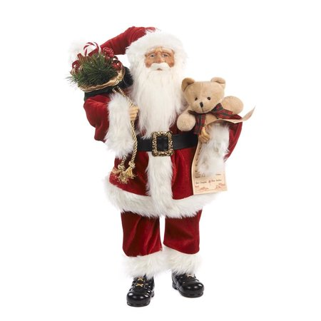 Good Will  Santa Claus with bear