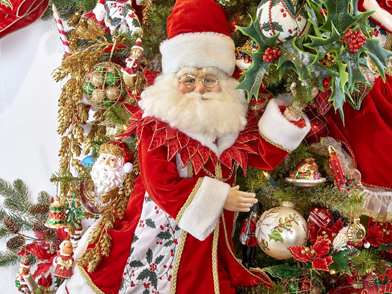 Good Will  Kerstman met lantaarn