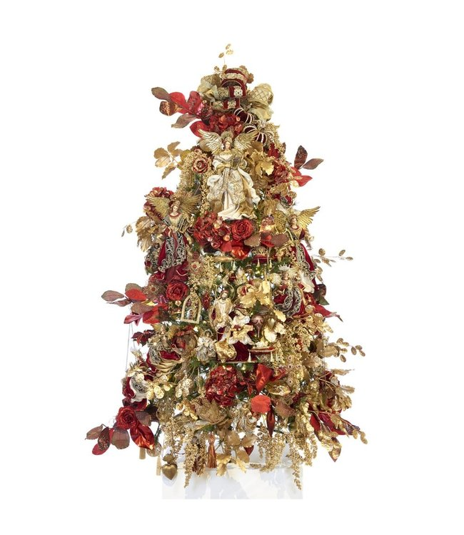 "Good Will  Completely decorated Christmas tree decoration from selections theme ""s religious"