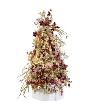 """Good Will  Completely decorated Christmas tree decoration from selections theme """"fairy"""