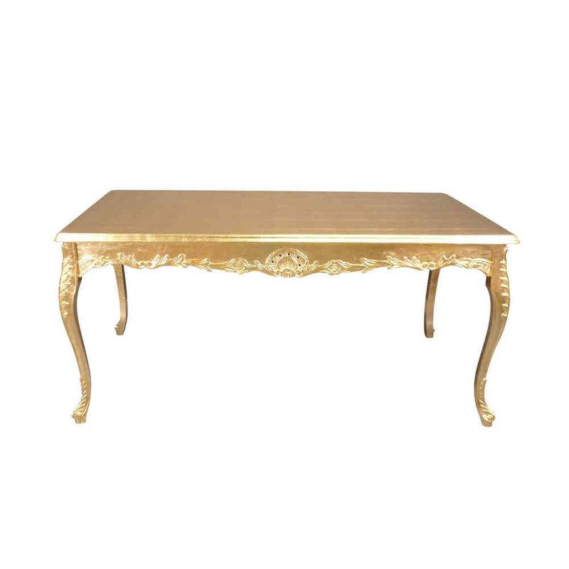 LC Golden  baroque table  180 cm