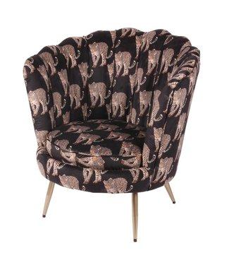Dutch & Style Arielle chair -Leopard