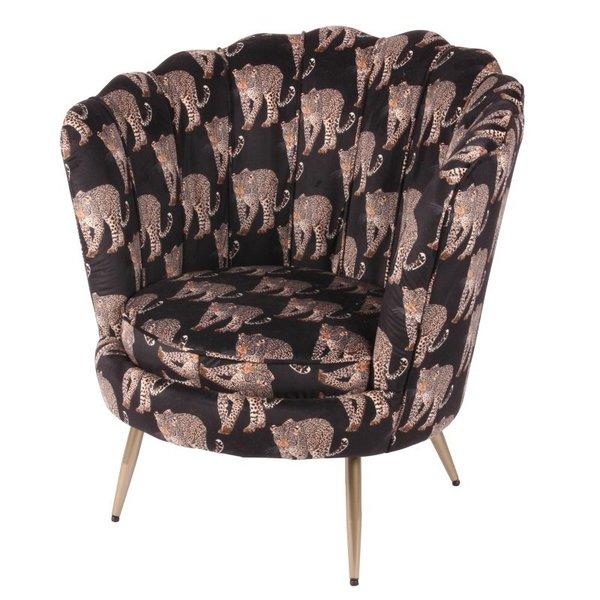 Dutch & Style Chaise Arielle -Leopard