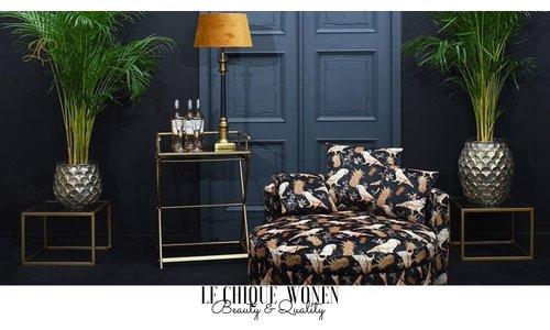 Furniture parrot print