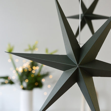 DELIGHT DEPARTMENT Olive Green Paper Stars