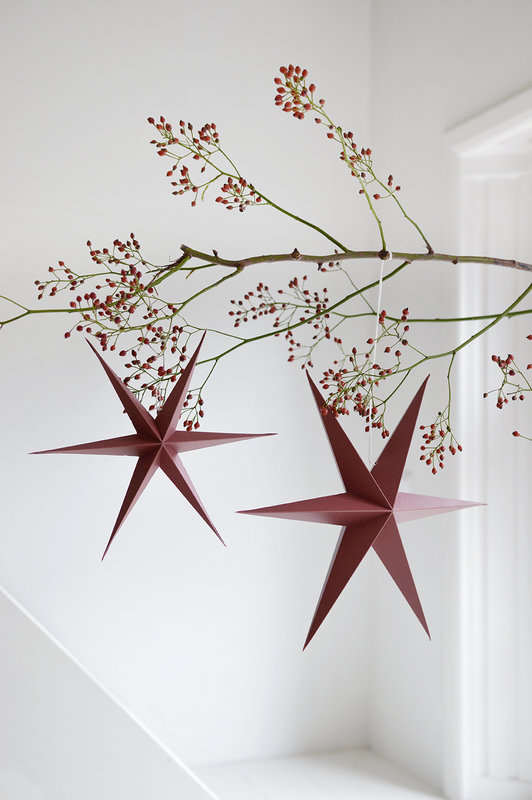 DELIGHT DEPARTMENT 10-red -paper-ornaments