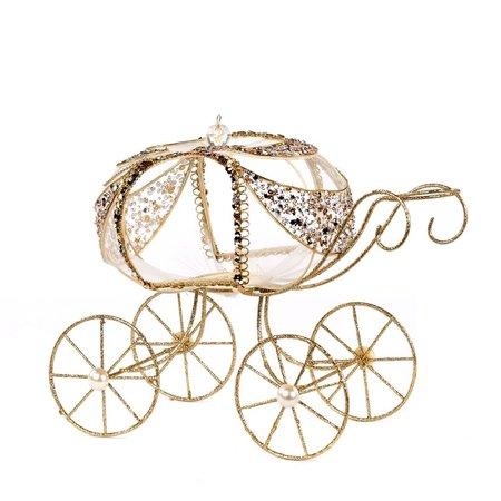 Good Will  WIRE CARRIAGE TT GLD