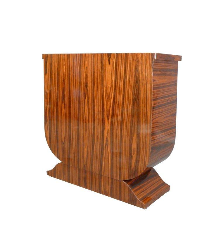 LC  Tv kast Art Deco  Rosewood